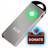 Donate One 8GB USB Pen Drive