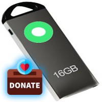 Donate One 16GB USB Pen Drive