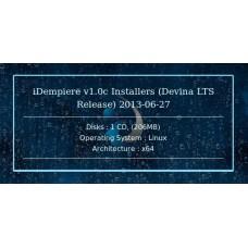 iDempiere v1.0c Installers (Devina LTS Release) 2013-06-27 64bit