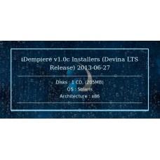 iDempiere v1.0c Installers (Devina LTS Release) 2013-06-27