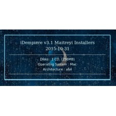 iDempiere v3.1 Maitreyi Installers 2015-10-31 64bit