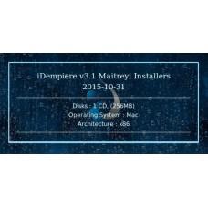 iDempiere v3.1 Maitreyi Installers 2015-10-31 32bit