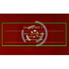 DesktopBSD 1.7 x32