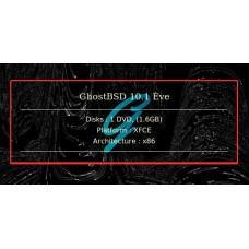 GhostBSD 10.1 Ève 32bit XFCE