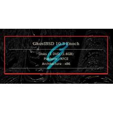 GhostBSD 10.3 Enoch 32bit XFCE