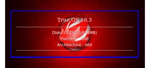 True OS 10.3 64bit