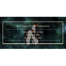 ALT Linux 6.0.0 Centaurus 64bit