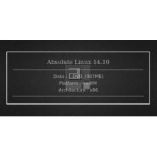 Absolute Linux 14.10 32bit