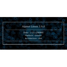 Alpine Linux 3.0.0 64bit