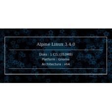 Alpine Linux 3.4.0 64bit