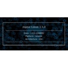 Alpine Linux 3.5.0 64bit