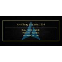 ArchBang lite beta 1216 32bit