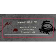 aptosid 2012-01 Xfce 64bit