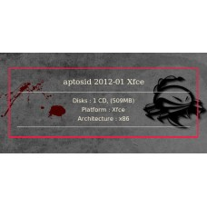 aptosid 2012-01 Xfce 32bit