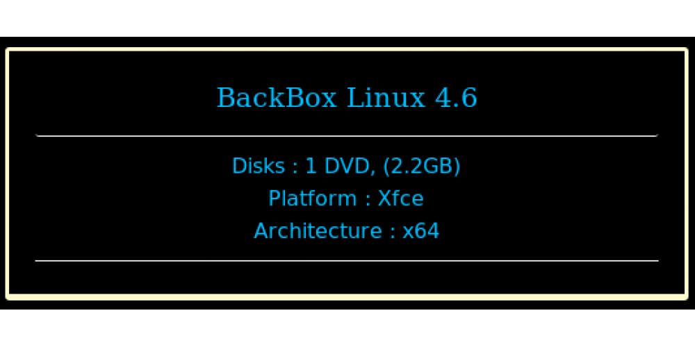 BackBox Linux 4 6 64bit