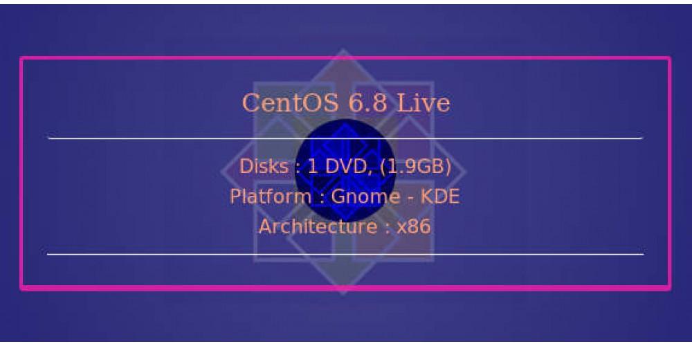 CentOS 6 8 Live 32bit