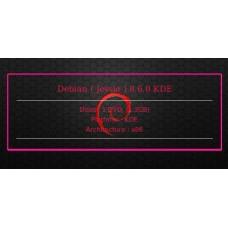 Debian ( Jessie ) 8.6.0 KDE 32bit