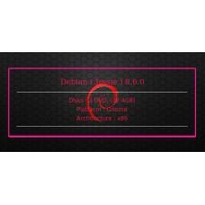 Debian ( Jessie ) 8.6.0 32bit