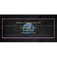 Fedora (Astronomy) 27 64bit
