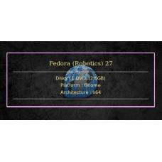 Fedora (Robotics) 27 64bit