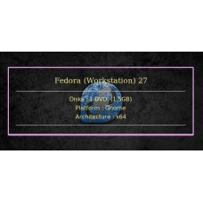 Fedora (Workstation) 27 64bit