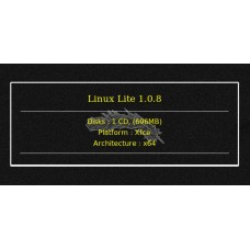 Linux Lite 1.0.8 64bit