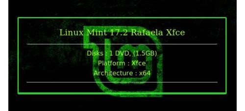Linux Mint 17 2 Rafaela Xfce 64bit