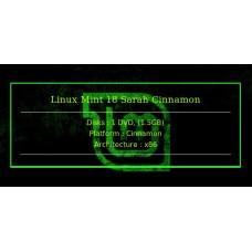 Linux Mint 18 Sarah Cinnamon 32bit