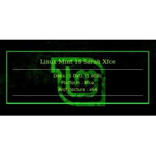 Linux Mint 18 Sarah Xfce 64bit