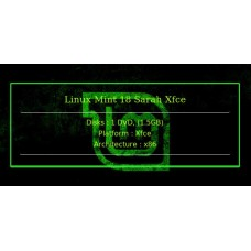 Linux Mint 18 Sarah Xfce 32bit