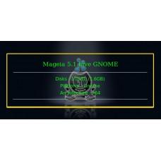 Mageia 5.1 Live GNOME 64bit
