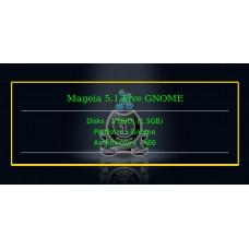 Mageia 5.1 Live GNOME 32bit