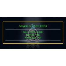 Mageia 5.1 Live KDE4 64bit
