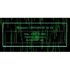 Manjaro CINNAMON 16.10 64bit
