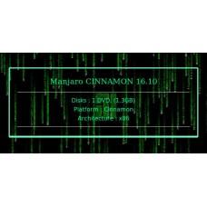 Manjaro CINNAMON 16.10 32bit