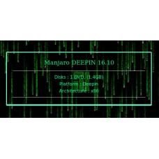 Manjaro DEEPIN 16.10 32bit