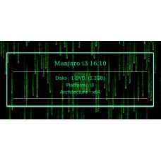 Manjaro i3 16.10 64bit