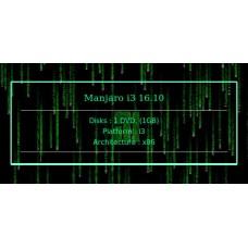 Manjaro i3 16.10 32bit