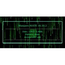 Manjaro MATE 16.10.2 32bit