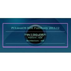PCLinuxOS KDE FullMonty 2013.12 64bit
