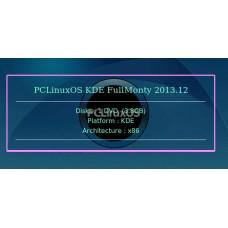 PCLinuxOS KDE FullMonty 2013.12 32bit