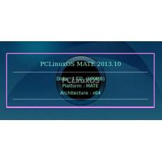 PCLinuxOS MATE 2013.10 64bit