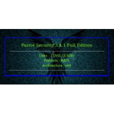 Parrot Security 3.4.1 Full Edition 64bit