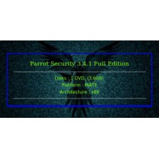 Parrot Security 3.4.1 Full Edition 32bit