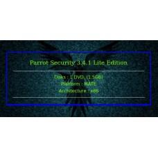 Parrot Security 3.4.1 Lite Edition 32bit