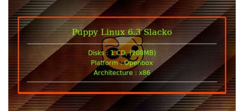 Puppy Linux 6.3 Slacko 32bit
