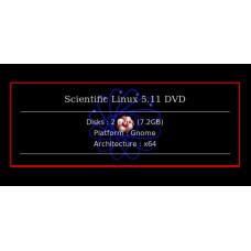 Scientific Linux 5.11 DVD 64bit