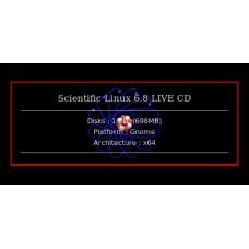 Scientific Linux 6.8 LIVE CD 64bit