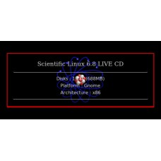 Scientific Linux 6.8 LIVE CD 32bit