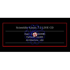 Scientific Linux 7.2 LIVE CD